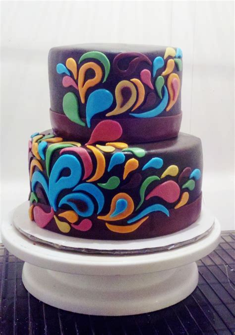 paisley cake decorations paisley cake 2 cakecentral