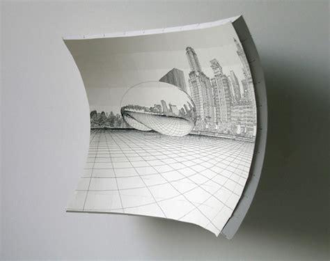How To Draw A 3d Boat On Paper by Un Chevalet Concave Pour Dessiner En 3d