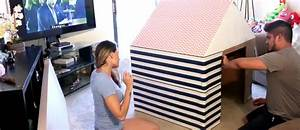 Cabane En Carton À Colorier : fabriquer une cabane en carton vos enfants vont adorer les bonnes id es loisirs cr atifs ~ Melissatoandfro.com Idées de Décoration