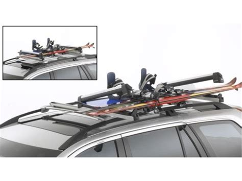 Volvo Ski Rack by Volvo Ski Snowboard Rack Sliding Rail