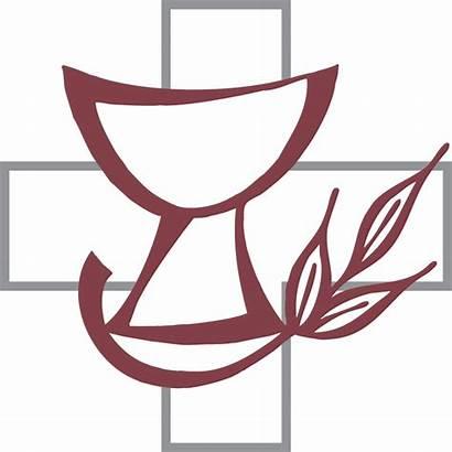 Lutheran Clipart Communion Worship Symbols Divine Hymns