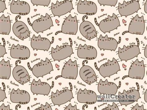 Pusheen Background Pusheen The Cat Wallpapers Wallpapersafari