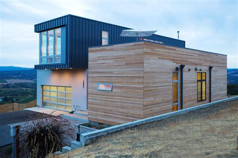 Prefabricated Home : A Prefab/modular Home In The Hills Of Sonoma County