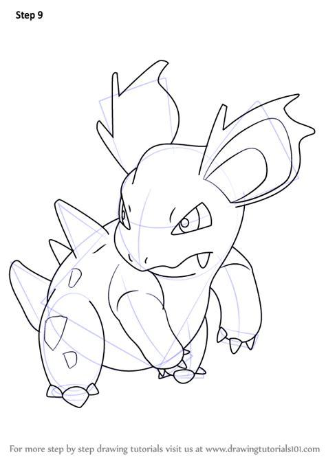 learn   draw nidorina  pokemon pokemon step