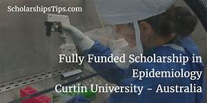 Fully Funded PhD Scholarship in Epidemiology, Curtin ...