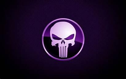 Skull Willie Purple Wallpho