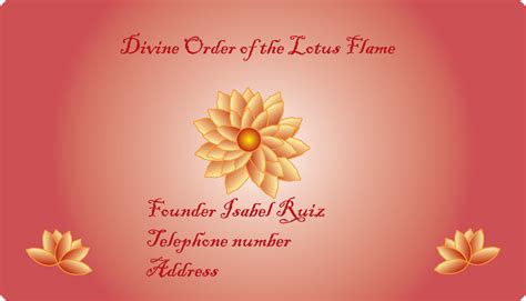 Divine Order Of Lotus Flame... By Malangelleliorahan On