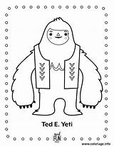 Yeti Coloring Printable Nod Dessin Coloriage Winter Fun Ted Crafts Colouring Snowman Monster Birthday Bigfoot Crate Landofnod Fois Imprime Printables sketch template