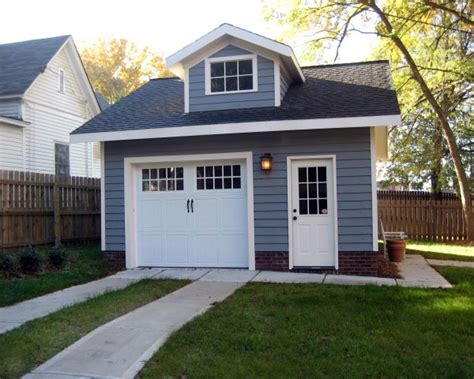 homes with detached garage small garage smalltowndjs