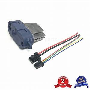 Blower Heater Resistor And Wire Harness Cable For Renault