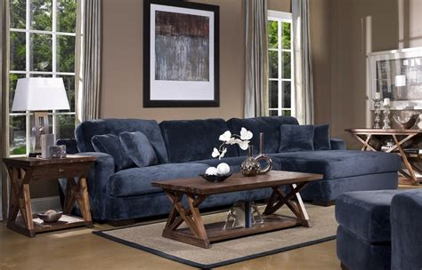 denim blue sofas  uniquely timeless    living
