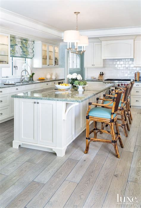 coastal kitchens ideas  pinterest beach
