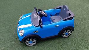 Mini Cooper Electric Toy Car Charger