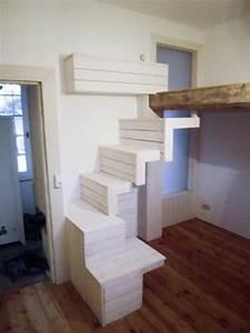 Treppe Für Hochbett : innenausbau ehrenstein holzbau ~ Michelbontemps.com Haus und Dekorationen