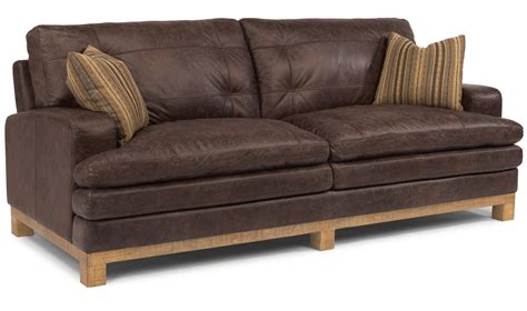 brown leather sofa with fabric cushions dark brown leather love seat with fabric cushions also