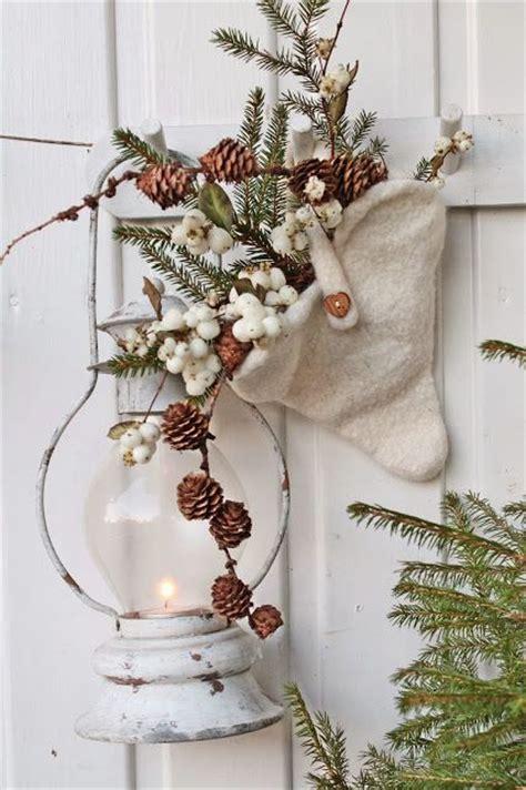 comfy rustic outdoor christmas decor ideas interior