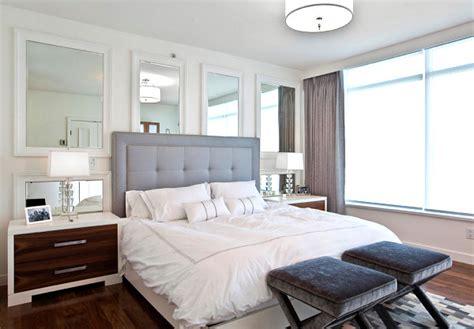 bedroom wall mirrors for 5 easy bedroom makeover design ideas homesthetics