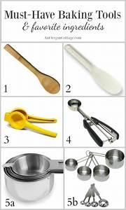14 Must-Have Baking Tools +11 Favorite Ingredients