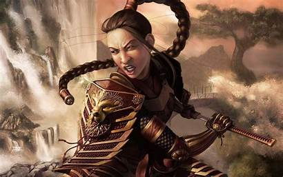 Warrior Fantasy Princess Chinese Female Warriors Wallpapers