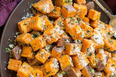 sweet potato recipie 19 best roasted sweet potato recipes how to roast sweet potatoes delish com