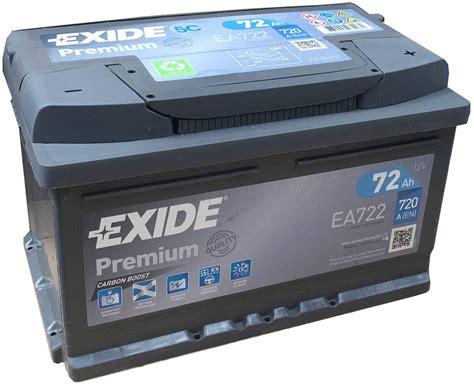 Ea722 Exide Premium Car Battery 096te
