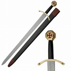 Medieval Knight Templar Sword