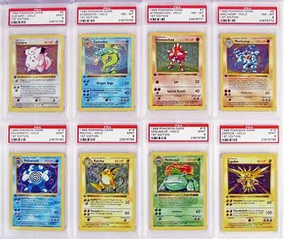 Pokemon Base Psa Shadowless Edition 1st Graded