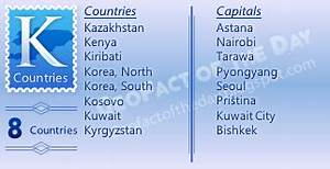 k countries