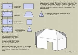 Hexayurt Schematics