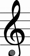 Image result for Free Clip Art Of Treble Clef