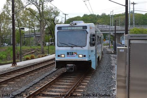 Md Light Rail by Baltimore Lrv Pictures