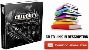 Call Of Duty  Advanced Warfare Limited Edition Strategy Guide By Bradygames  Pdf