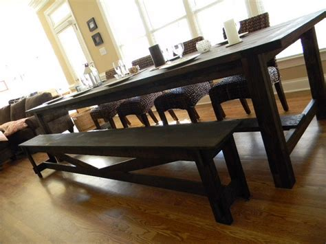 long dining table with bench extra long dining room table marceladick com