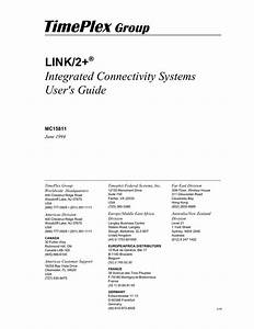 Link  2  Integrated Connectivity Systems User S Guide