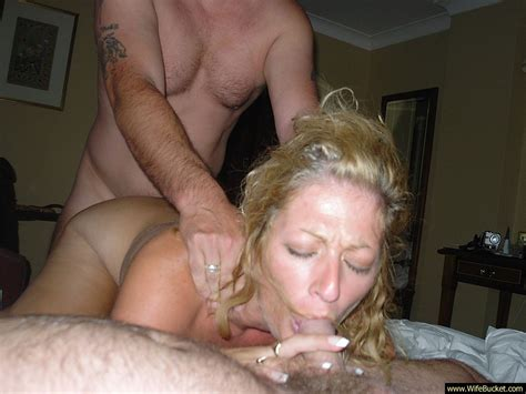 Mature Swinger Mom In A Threesome With Strangers