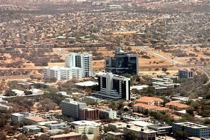 Gaborone Botswana Capital Botsuana Africa Cities Cidade