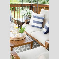 Tips For Creating A Cozy Outdoor Living Space + Video A