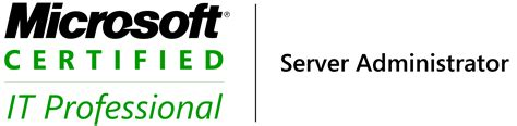 Mcitp Certified Resumes by Mcitp Server Administrator Logo
