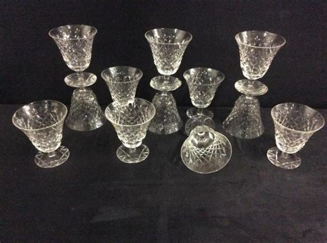 Selection Of Fine Crystal Glasses