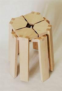 Tabouret Bas Scandinave : un petit tabouret par boris beaulant blog esprit design ~ Teatrodelosmanantiales.com Idées de Décoration