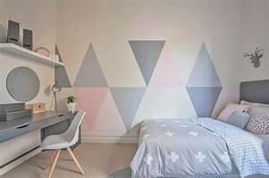 charmant idee deco peinture chambre adulte 3 et tapis With idee deco cuisine avec lit inspiration scandinave