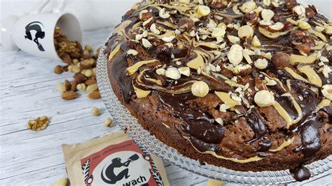 schoko haselnuss brownie rezept deutschland isst vegan