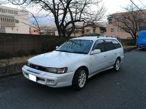 Toyota Corolla Touring Wagon Bz Touring  1998 White