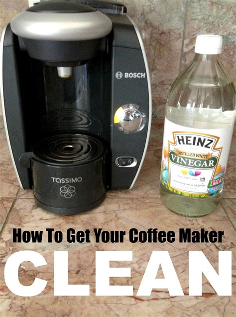 how to clean a coffee maker livelovediy 10 vinegar cleaning secrets