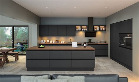 Contemporary Kitchen Interiors by Home Adornas Kitchens Interiors Bangor