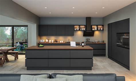 interior design of luxury homes zurfiz supermatt graphite kitchen ba components
