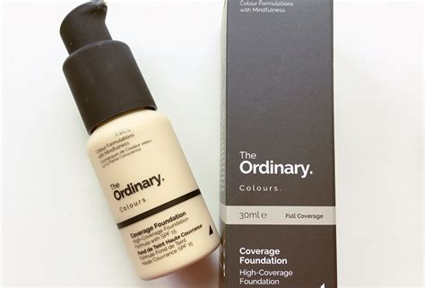 The Ordinary Colours Coverage Foundation Review  The Most