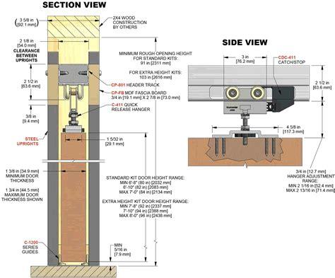 sliding pocket door detail door knobs and pocket doors