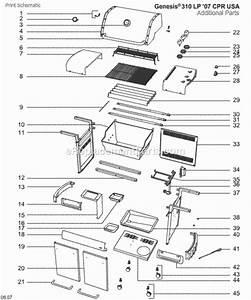 Weber 3742301 Parts List And Diagram