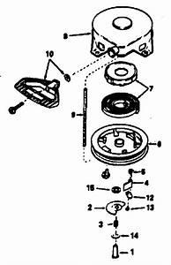 32 Tecumseh Recoil Starter Assembly Diagram